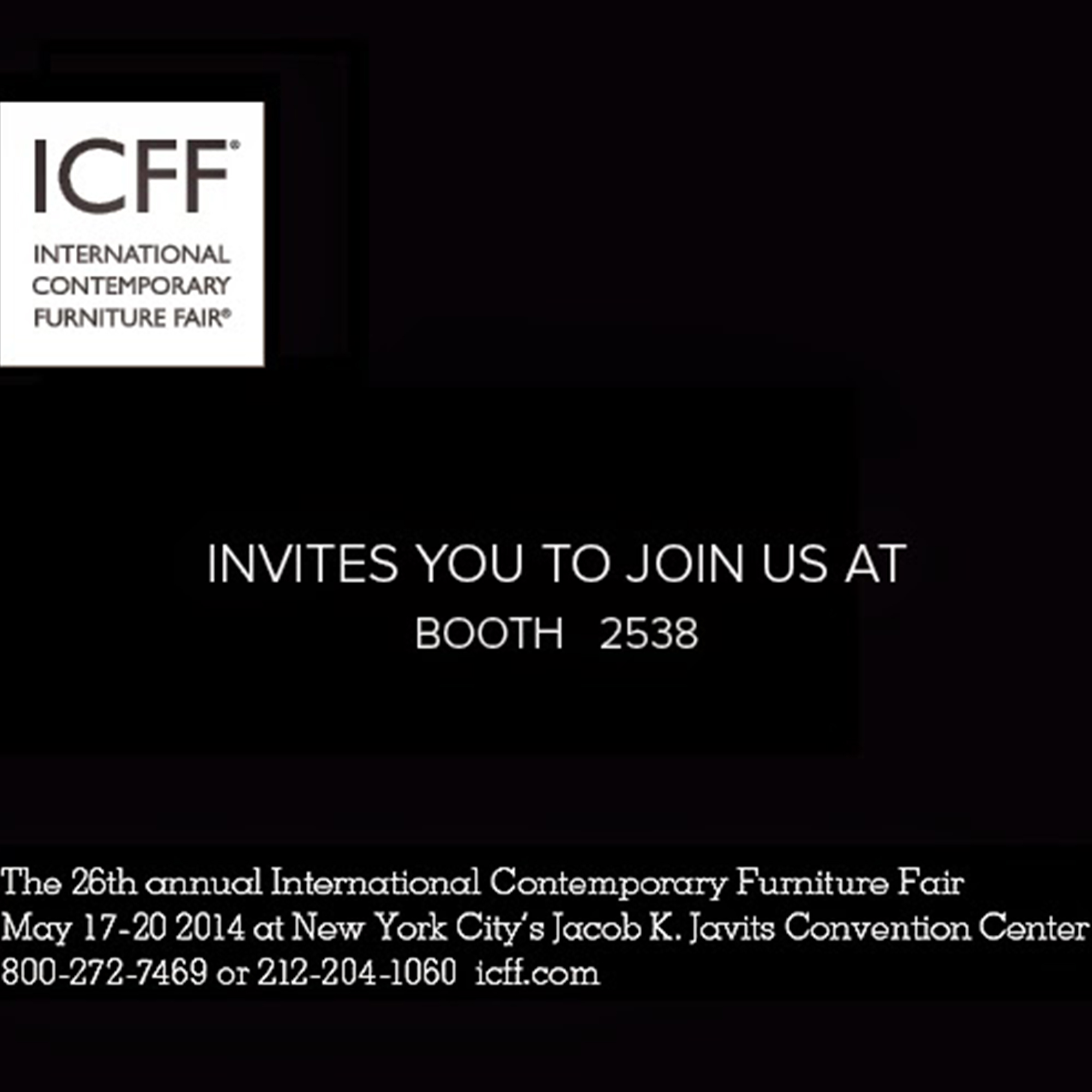 Nasiri Prepares Something Special for the ICFF
